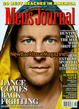 Men's Journal 8/09,Lance Armstrong,August 2009,NEW