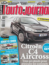 L'AUTO JOURNAL N° 849 . C4 AIRCROSS . ESSAI R5 TL 1972 / 1984 . MINI COOPER