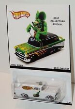 hot wheels customs chevy nomad rat-fink especial edition limited!! real rider...