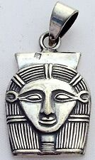Hathor .925 Silver Pendant 'Goddess of the Heavenly Depths' Hallmarked