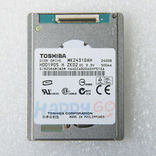 "1.8"" 240GB Toshiba MK2431GAH Disco Duro F iPod VIDEO 5TH/MacBook Air/HDR-XR550E"