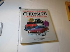 Complete History of the Chrysler Corporation 1924-1985 coffee table book HC RARE