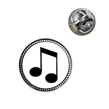 Musical Note Lapel Hat Tie Pin Tack