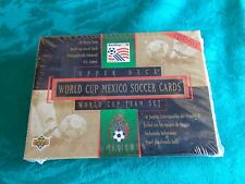 1994 Upper Deck World Cup Mexico Soccer Team Set Box rare