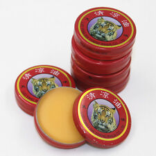 10 Pcs 2016 Red Chinese tiger balm For Cold headache dizziness Oil Massage