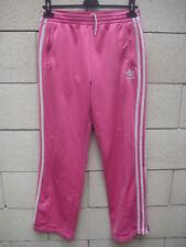 Pantalon ADIDAS rose retro vintage pant sport détente 40