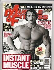 MUSCLE & FITNESS bodybuilding magazine/ARNOLD SCHWARZENEGGER 11-11
