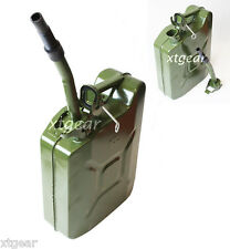 New Green NATO 2.5 Gallon Jerry Can 10L Army Authentic Military  Fuel Steel Tank