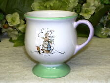 BEATRICE POTTER PETER RABBIT CUP 2002 TELEFLORA