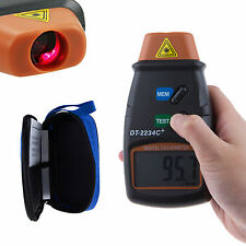 LCD Displying Advanced Handheld Digital Photo Laser Tachometer Meter Tester New