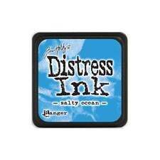 Tim Holtz Mini Distress Ink Pad SALTY OCEAN  Blue