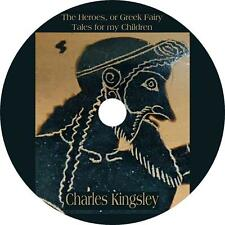 The Heroes, or Greek Fairy Tales for my Children, C. Kingsley Audiobook 1 MP3 CD