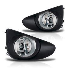 2012-2014 Yaris 2/4Dr Fog Lights w/Wiring Kit & Wiring Instructions - Clear