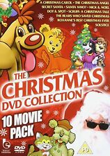 THE CHRISTMAS COLLECTION 10 MOVIE PACK 3 DISCS NEW SEALED DVD REGION 2