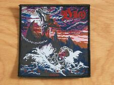 DIO - HOLY DIVER (COVER) (NEW) SEW ON W-PATCH OFFICIAL BAND MERCHANDISE