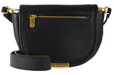 MARC BY MARC JACOBS Luna Black Italian Leather Crossbody Bag New With Tag $348