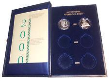 REPUBBLICA ITALIANA 1998 - DITTICO VERSO L'ANNO DUEMILA EMISSIONE 1998 _ PROOF