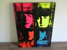 The Beatles - Pop Art - Original Acryl - signed - John Lennon - Canvas - HOT