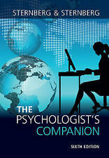 The Psychologist's Companion, Sternberg, Robert J.