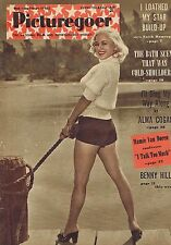 MAMIE VAN DOREN / ALMA COGAN / FAITH DOMERGUE Picturegoer Feb 19 1955
