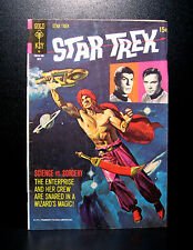 COMICS: Gold Key: Star Trek #10 (1971) - RARE (batman/man from uncle/flash)