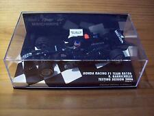 1/43 HONDA RACING F1 TEAM RA106 RUBENS BARRICHELLO TESTING SESSION 2006