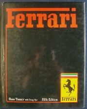 FERRARI FIFTH EDITION HANS TANNER DOUG NYE CAR BOOK