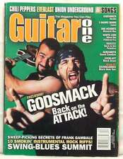 GUITAR ONE GODSMACK SULLY ERNA RED HOT CHILI PEPPERS everlast Frank gambale
