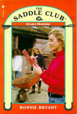 Bonnie Bryant Stable Manners (Saddle Club) Very Good Book