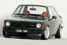 "1:18 ""[E21] BMW 323i"" STANCE-WORKS (Grey) HARTGE MODIFIED TUNING UMBAU Alpina C1"