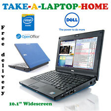 "Comes Boxed - Blue Dell Laptop - 10.1"" - Intel - WiFi - Webcam - Office"