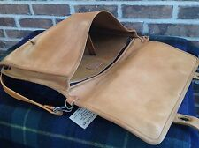 VINTAGE 1970's MINIMALIST BASEBALL GLOVE LEATHER SURFACE PRO BRIEFCASE BAG R$598