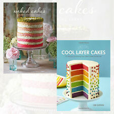 Cool Layer Cakes,Naked Cakes 2 Books Collection Set Brand New Pack