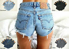 LEVIS VINTAGE WOMENS HIGH WAISTED SHORTS HOTPANTS DENIM JEANS 4 6 8 10 12 14 16