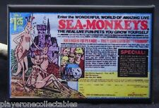 "Sea-Monkeys Comic Book Ad  2"" X 3"" Fridge / Locker Magnet."