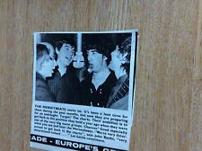 T1-2 ephemera 1965 article the merseybeats move on john banks