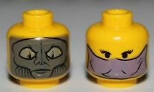 LEGO Star Wars Zam Wesell Head Dual Sided for Minifigures NEW RARE