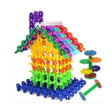 Kinder Kindergarten 100xSTK Bausteine Spielzeug DIY Lernen Spielzeug