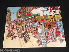 GILES ANNUAL 42: 42nd Series  Political & Satirical Cartoons, Published 1988-1st