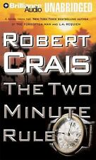 THE TWO MINUTE RULE unabridged audio book on CD by ROBERT CRAIS