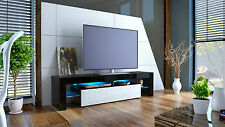 "Black High Gloss Modern TV Stand Unit Media Entertainment Center ""Lima"""