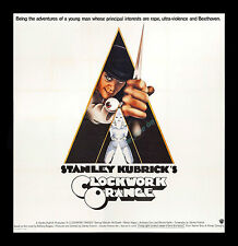 1971 Stanley Kubrick's ☆ A CLOCKWORK ORANGE ☆ MINT COND ☆  6-Sheet MOVIE POSTER!