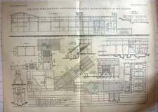 1889 otto fil téléphérique gottesegen mine antonienhutte haute-silésie
