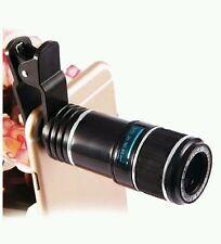 Cámara óptico lente, lente Zoom óptico 12X telescopio lente de cámara