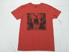 Quiksilver Medium Modern Fit  Men T-Shirt Java Tiger Red