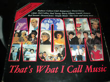 "Now Thats What I Call Music - Double Vinyl Record 12"" LP 33RPM - 1983 -30 Tracks"