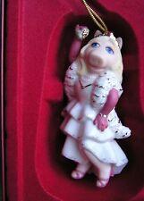 LENOX MISS PIGGY KISS ME KERMIT Ornament NEW in BOX Muppets