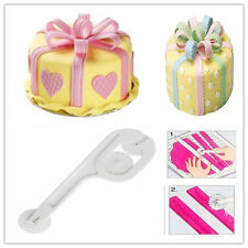 Fondant Cake Sugar Paste Decor Lace Embosser Wheel Icing Stitching Cutter Tool