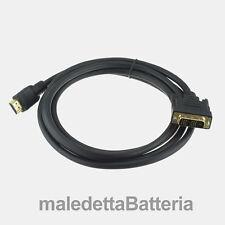 Cavo 2 Metri: HDMI A maschio   DVI-D maschio Single Link