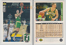 NBA UPPER DECK 1994 COLLECTOR'S CHOICE - Detlef Schrempf #111 - Ita/Eng- NM